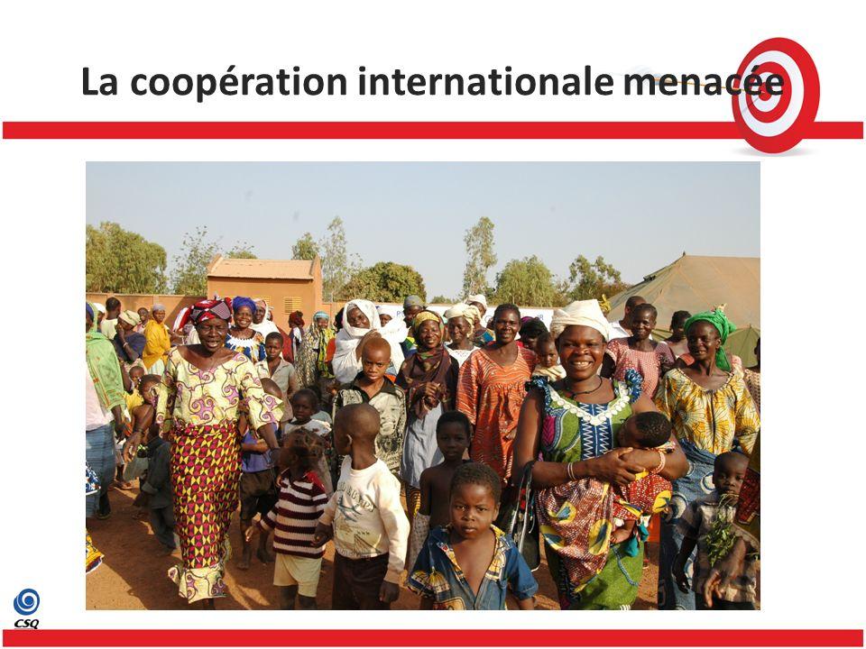 La coopération internationale menacée
