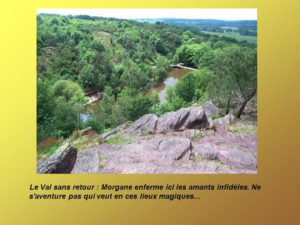 Le Val sans retour : Morgane enferme ici les amants infidèles. Ne s'aventure pas qui veut en ces lieux magiques...