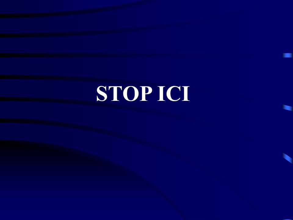 STOP ICI