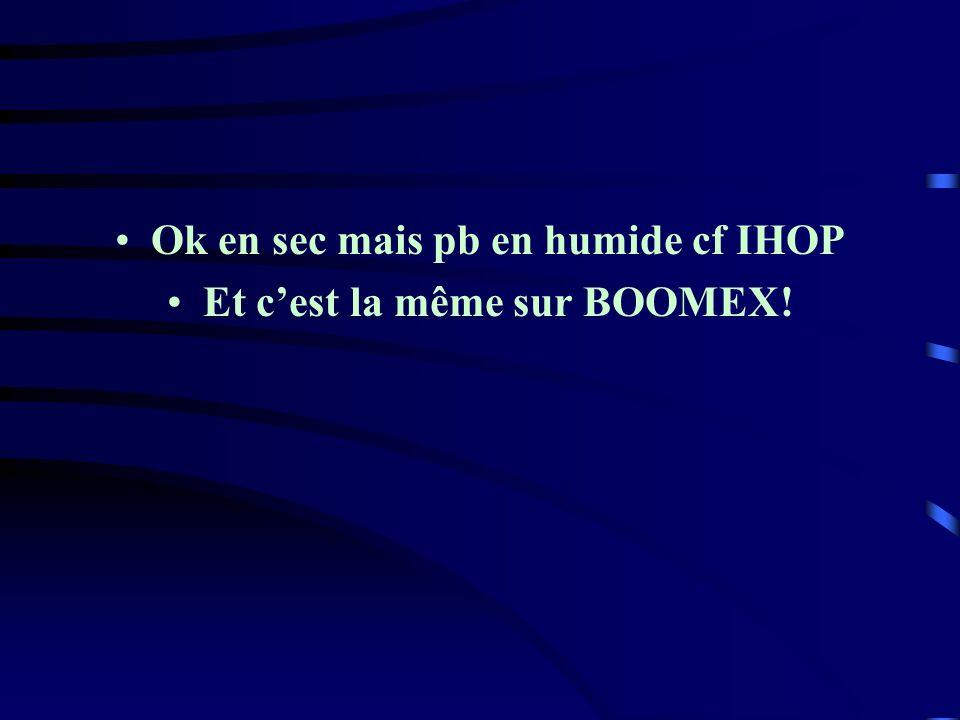 Ok en sec mais pb en humide cf IHOP Et cest la même sur BOOMEX!