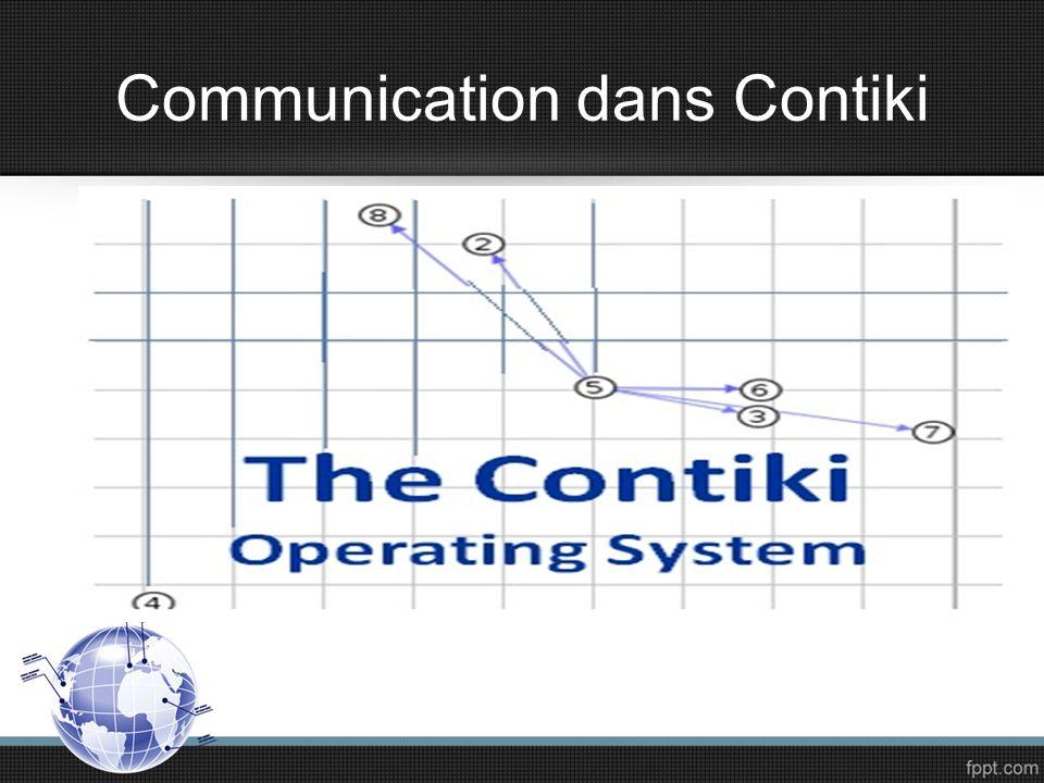 Le système dexploitation Contiki OS Contiki est un système dexploitation : Très difficile pour les débitants Open source Programmé en langage c Disponible sur le web Flexible pour les réseaux des capteurs sans fils.
