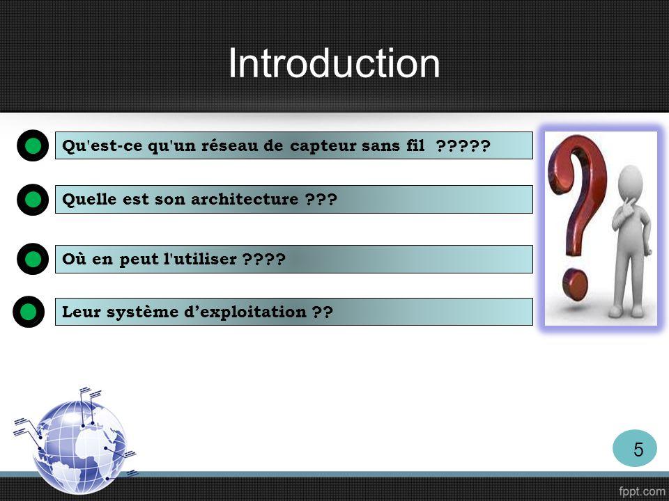 Introduction Travail demandé Simuler plusieurs nœuds capteur.