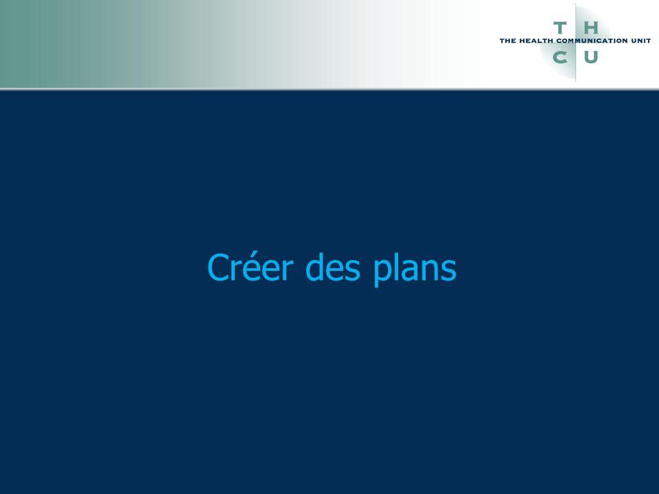 Créer des plans