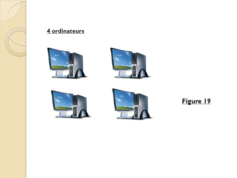 Figure 19 4 ordinateurs