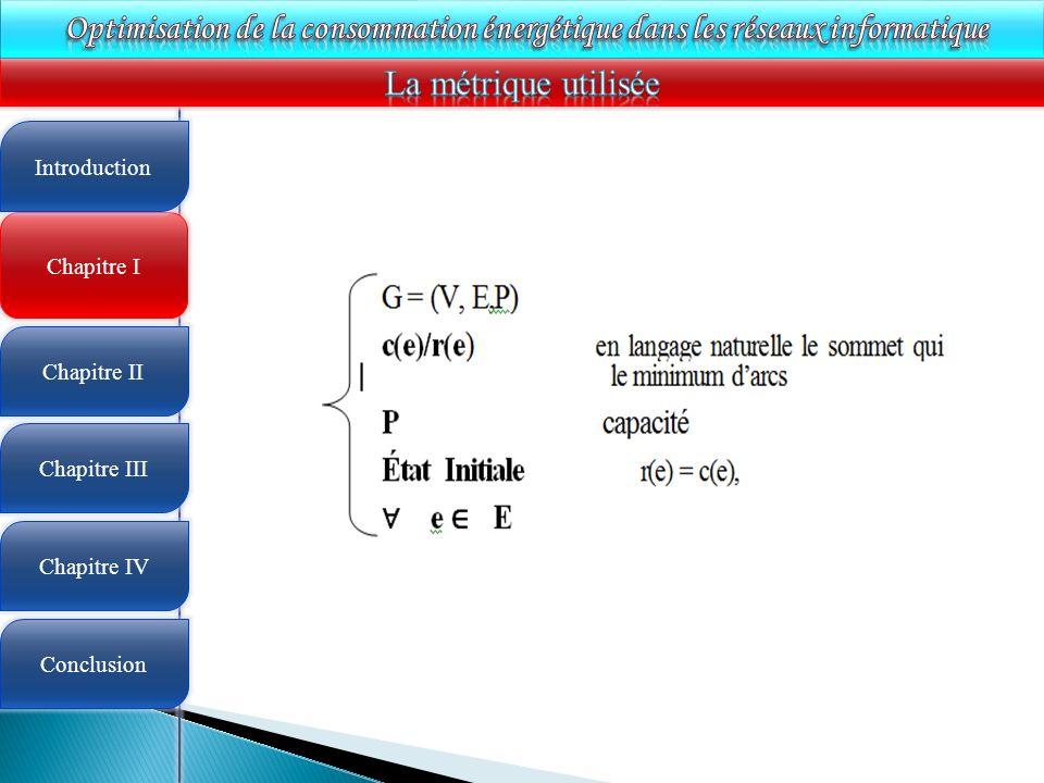 4 Chapitre I Introduction Chapitre II Chapitre III Chapitre IV Conclusion