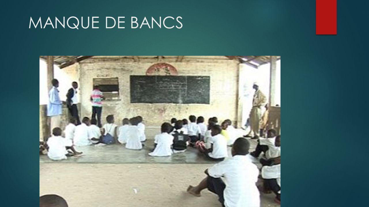 NOS MICROS-PROJETS ÉDUCATION Construites depuis lépoque coloniale, les écoles se trouvent dans un état de délabrement difficilement imaginable.