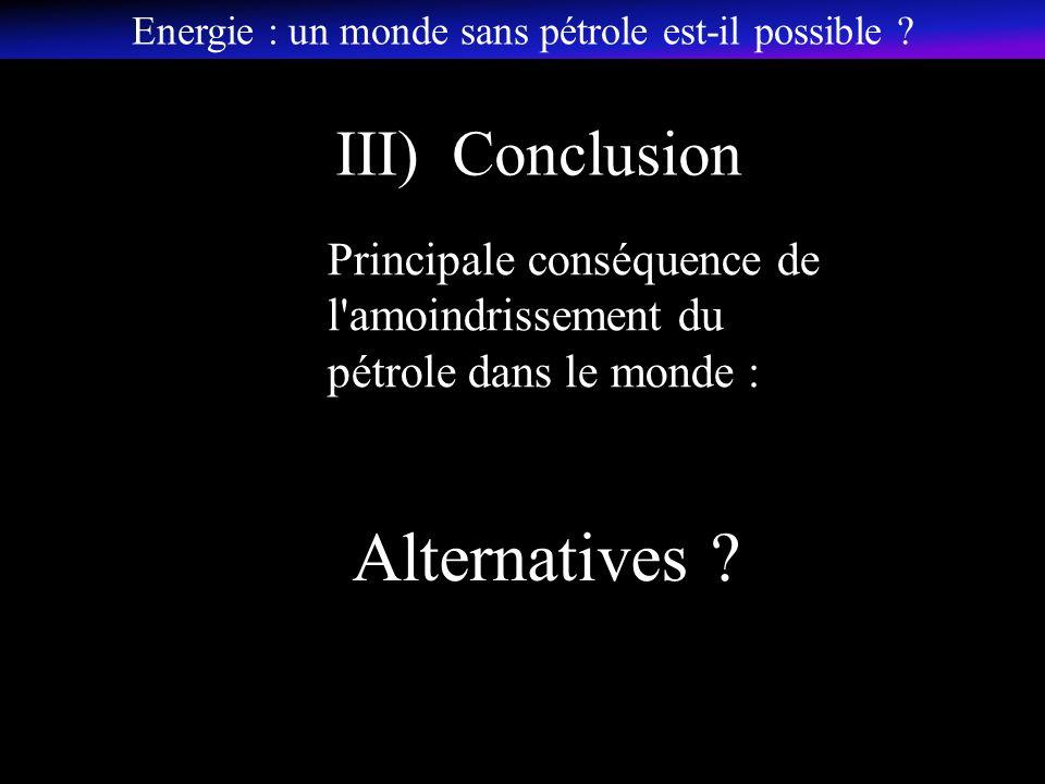 Alternatives .