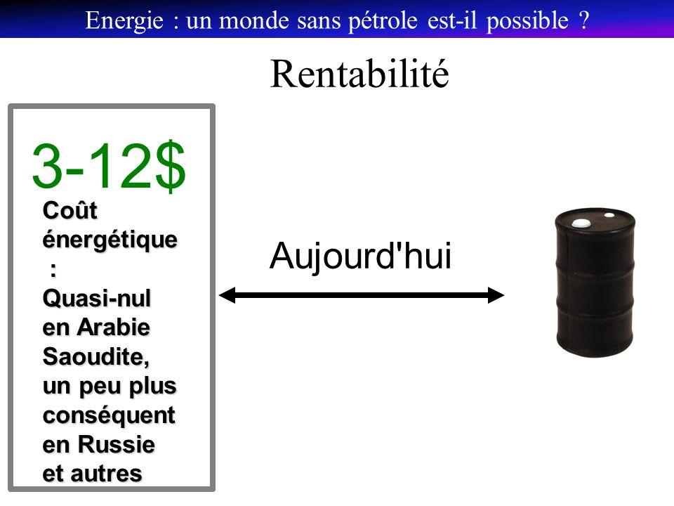 Energie : un monde sans pétrole est-il possible .