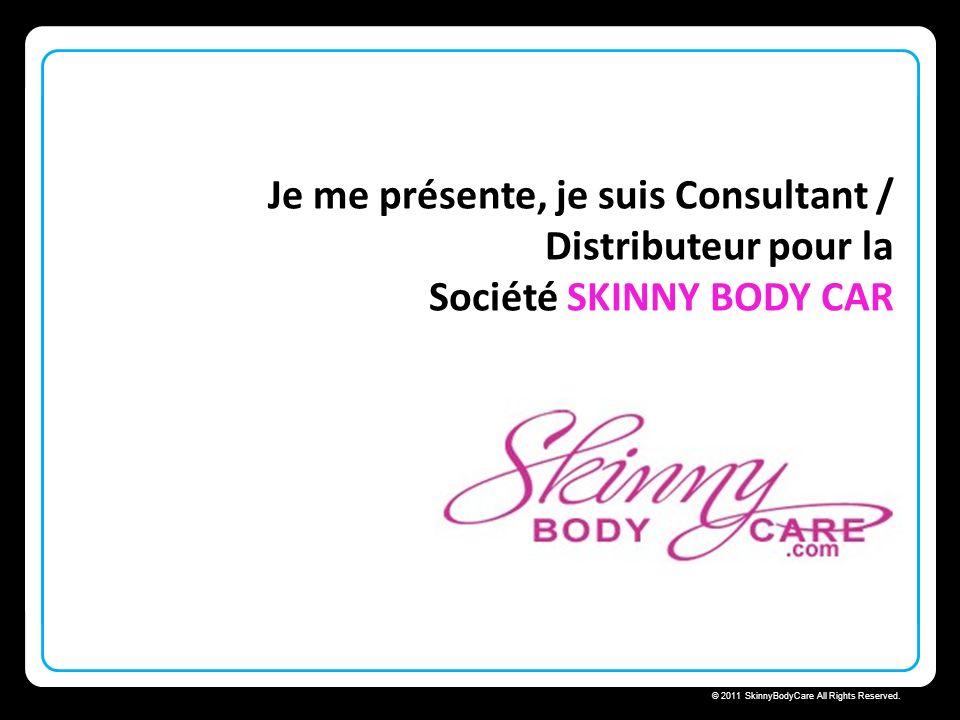 Skinny Body Care © 2011 SkinnyBodyCare All Rights Reserved. Bienvenue pour une présentation de Skinny Fiber