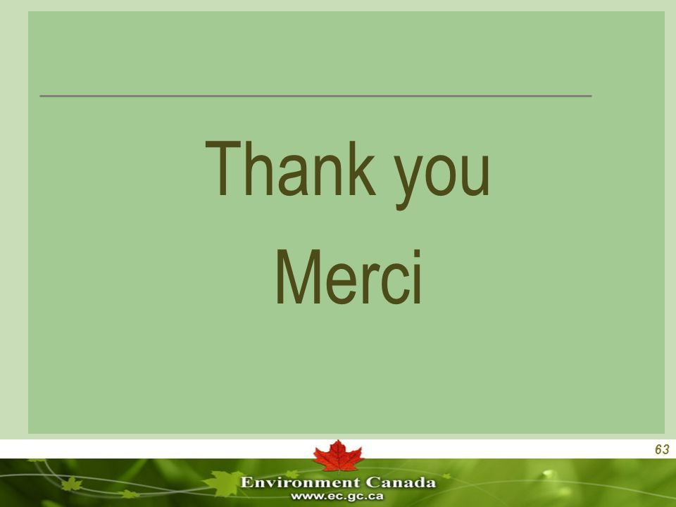 63 Thank you Merci