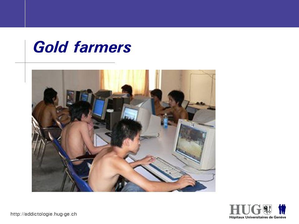 http://addictologie.hug-ge.ch Gold farmers