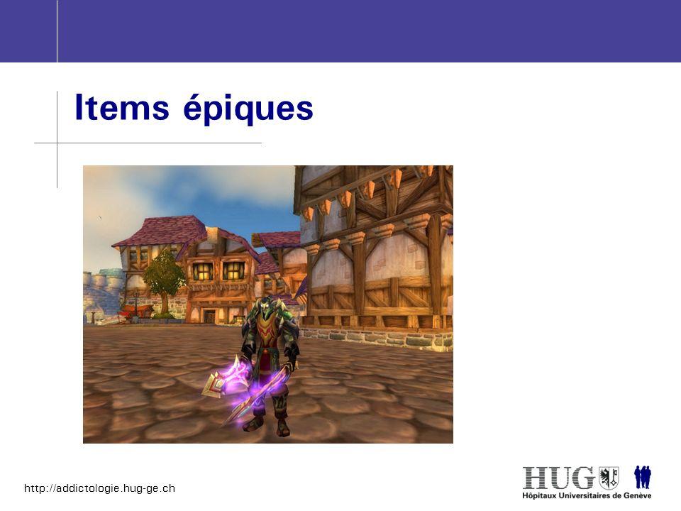 http://addictologie.hug-ge.ch Items épiques