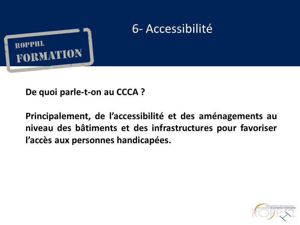 De quoi parle-t-on au CCCA .