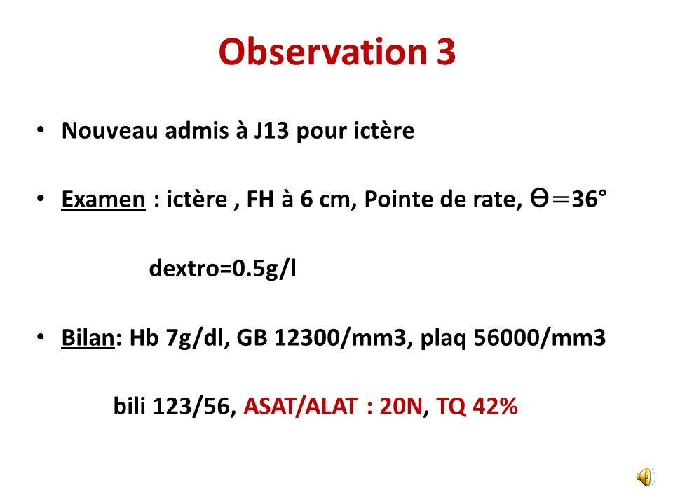 Quest ce qui manque? A cytosol =0 FOGD + Biopsie: Atrophie totale Ac Antitransglutaminase=+ Régime sans gluten A 6 mois; ASAT/ALAT: 42/21UI/l Diagnost