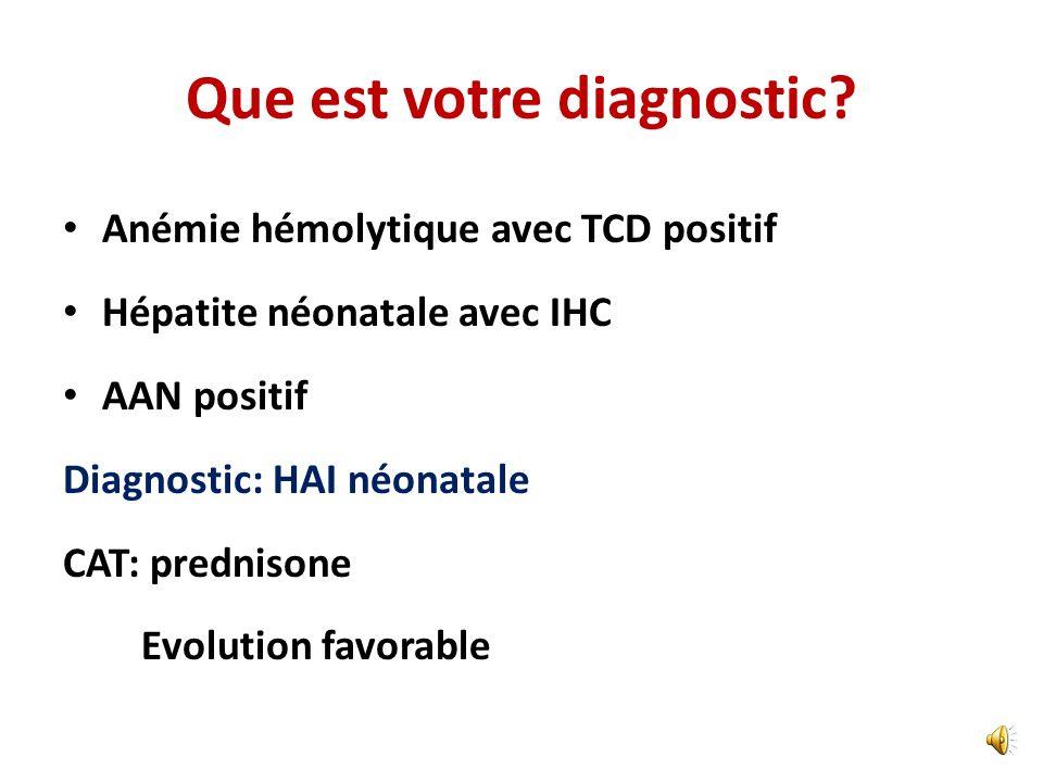 Bilan étiologique Echographie abdominale hépatosplénomégalie; pas de thrombose porte, pancréas normal, pas de slugde vésiculaire Hémocultures =0 Sérol