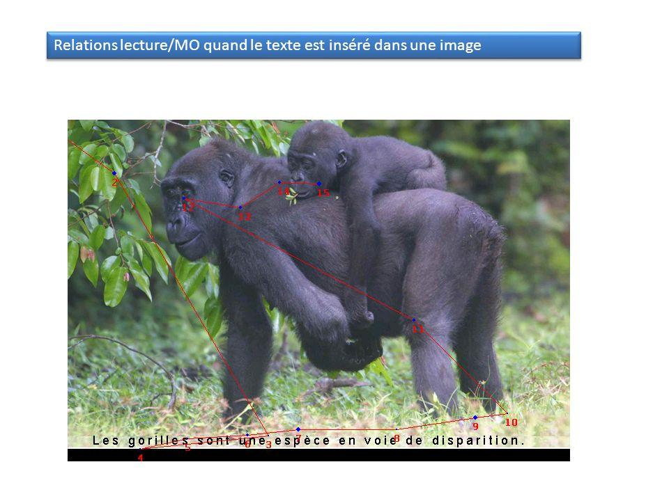 Relations lecture/MO quand le texte est inséré dans une image