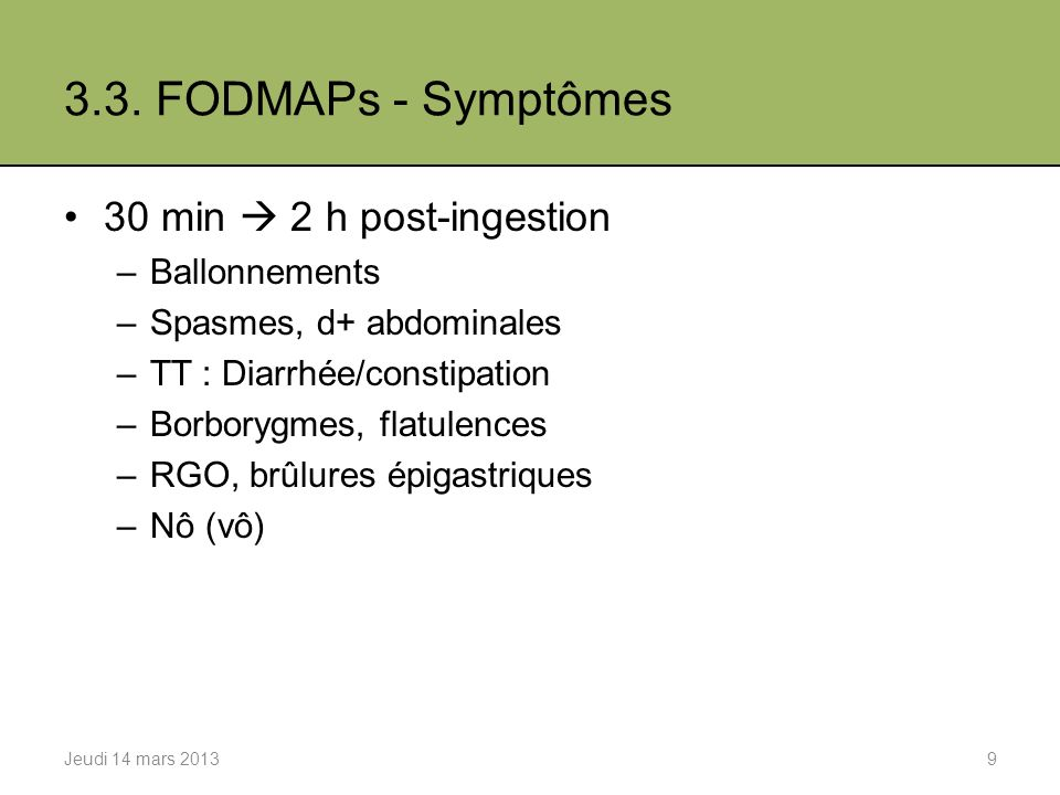 4. Tests respiratoires 1.Principe 2.Procédure 3.Algorythme Jeudi 14 mars 201310
