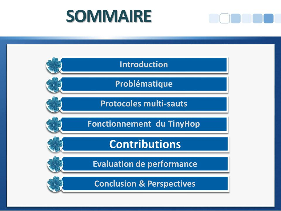 SOMMAIRE Contributions
