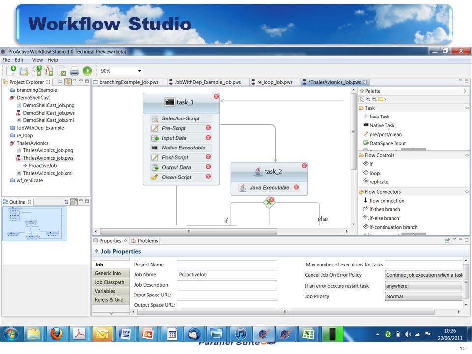 10 Workflow Studio