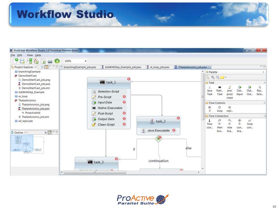30 Workflow Studio