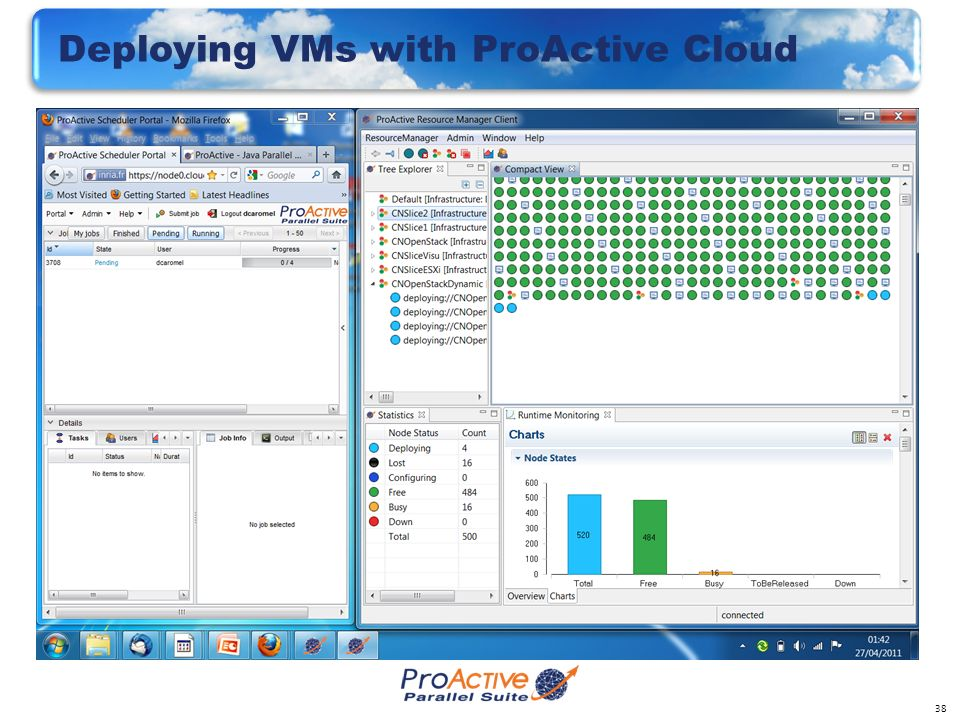 38 Deploying VMs with ProActive Cloud