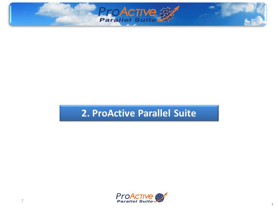 7 7 2. ProActive Parallel Suite