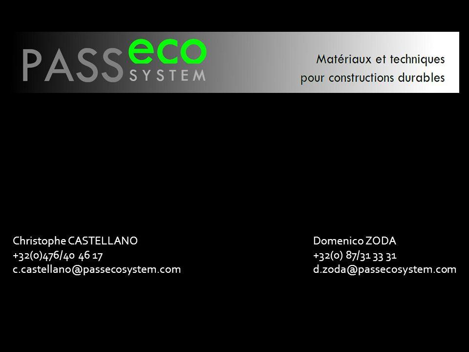 Christophe CASTELLANO +32(0)476/40 46 17 c.castellano@passecosystem.com Domenico ZODA +32(0) 87/31 33 31 d.zoda@passecosystem.com
