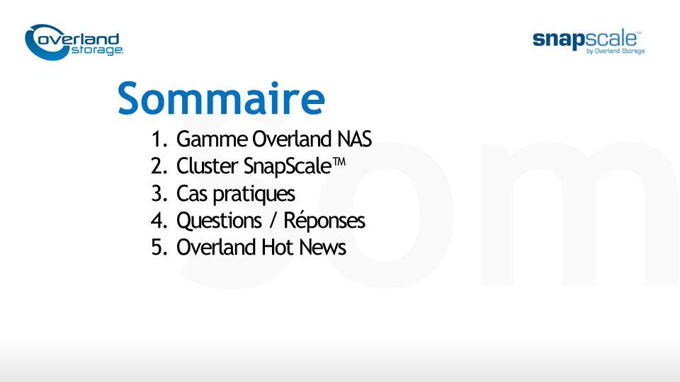 SnapServer ® SnapScale SnapScale Gamme de NAS Entreprise