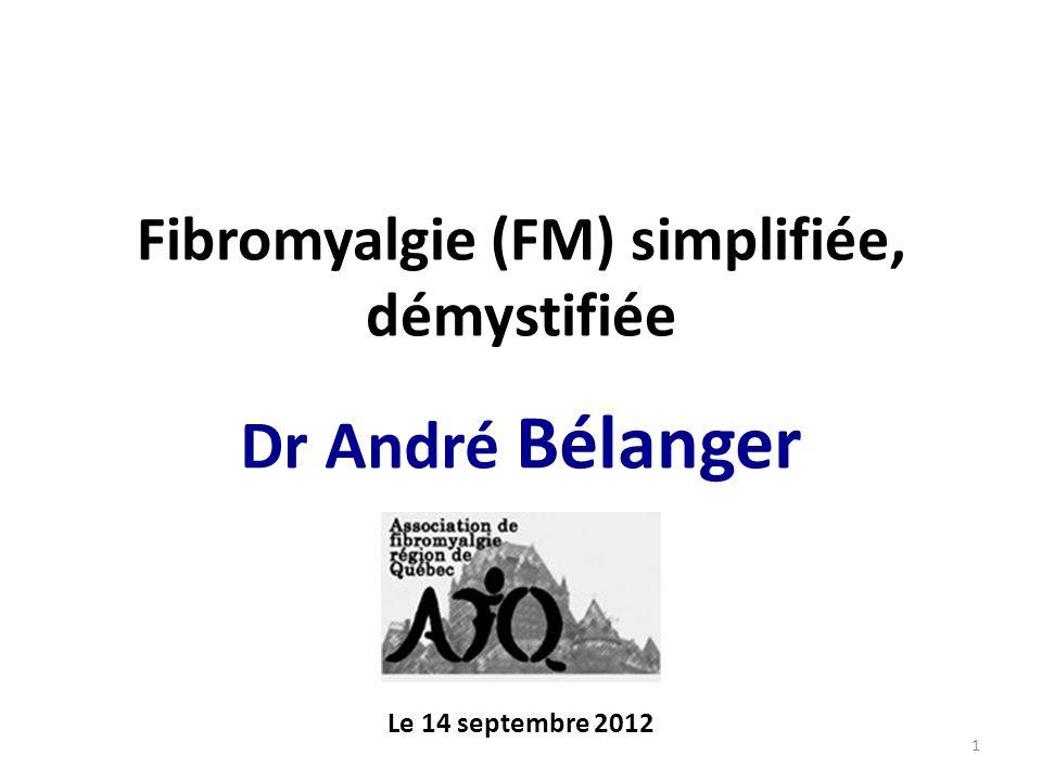 La fibromyalgie Critères diagnostiques - WPI et score à l échelle SS 1.