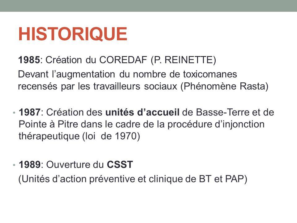 HISTORIQUE 1985: Création du COREDAF (P.