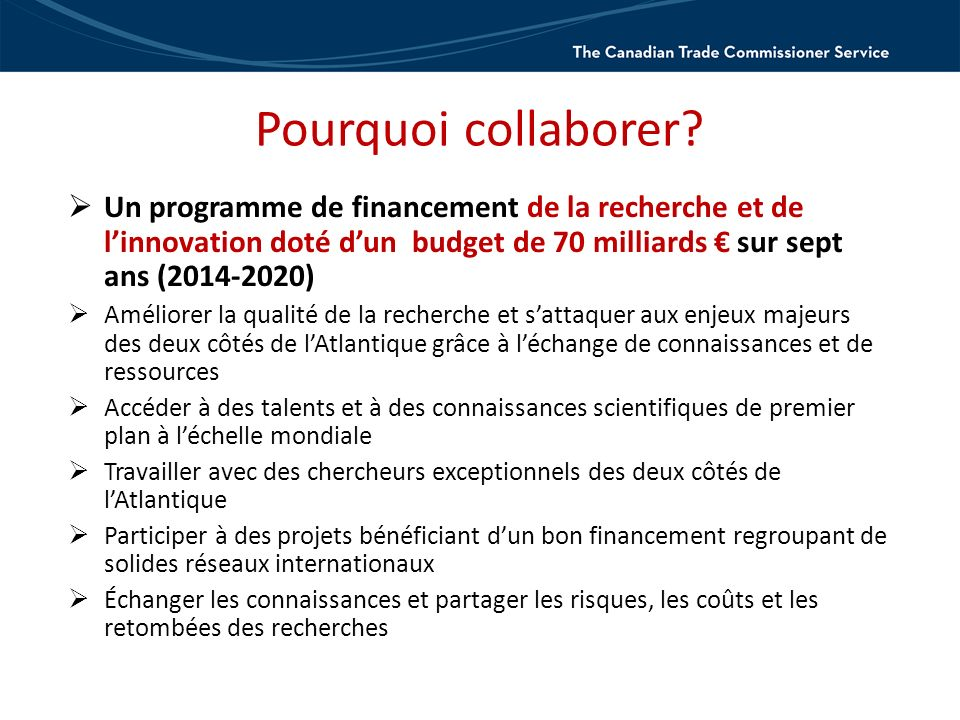 Pourquoi collaborer.