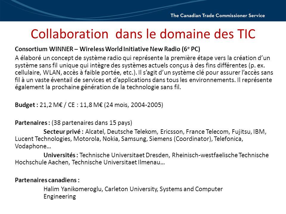 Connect with the TCS tradecommissioner.gc.ca Communiquez avec le SDC deleguescommerciaux.gc.ca Debbie Kemp, directrice adjointe Promotion de linnovation Science, technologie et innovation