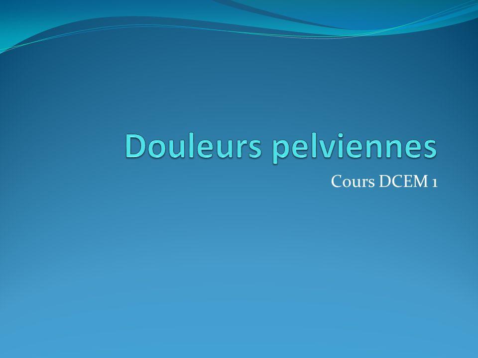 Cours DCEM 1