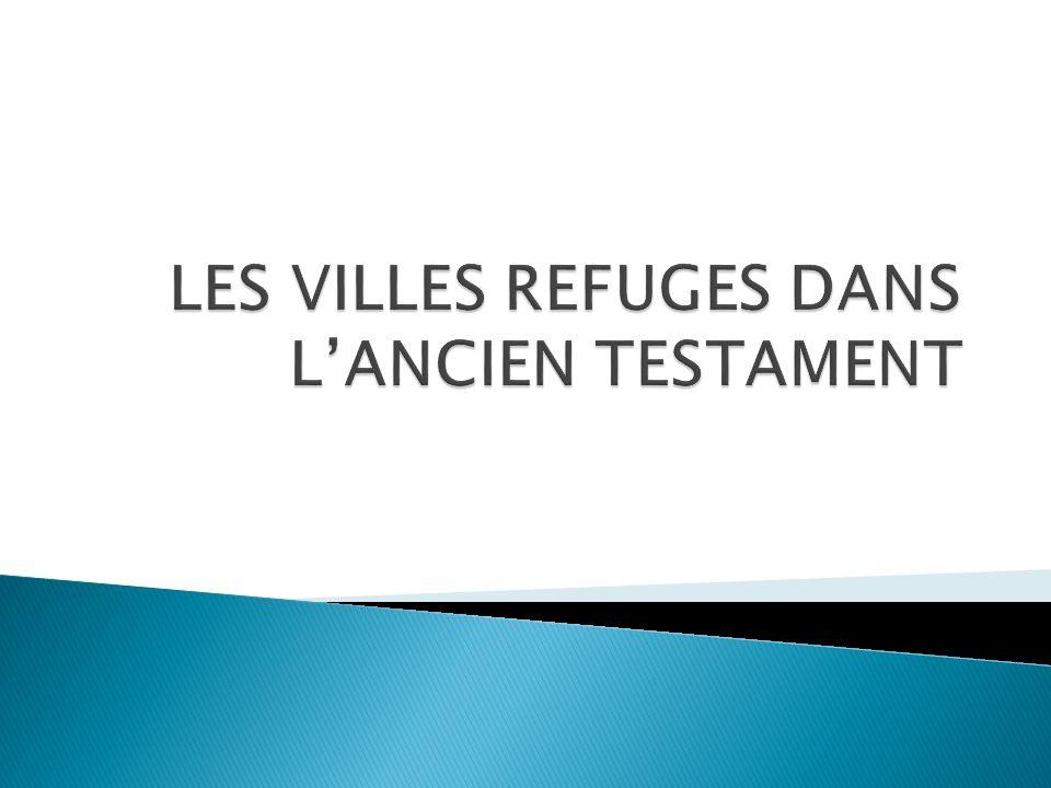 Cette étude nous montre que Dieu est notre refuge.