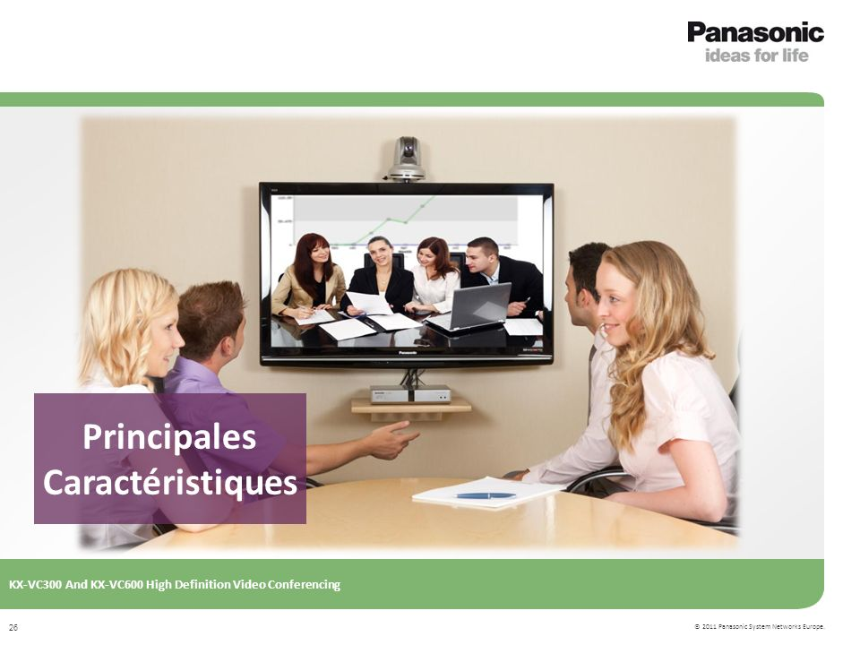 © 2011 Panasonic System Networks Europe.