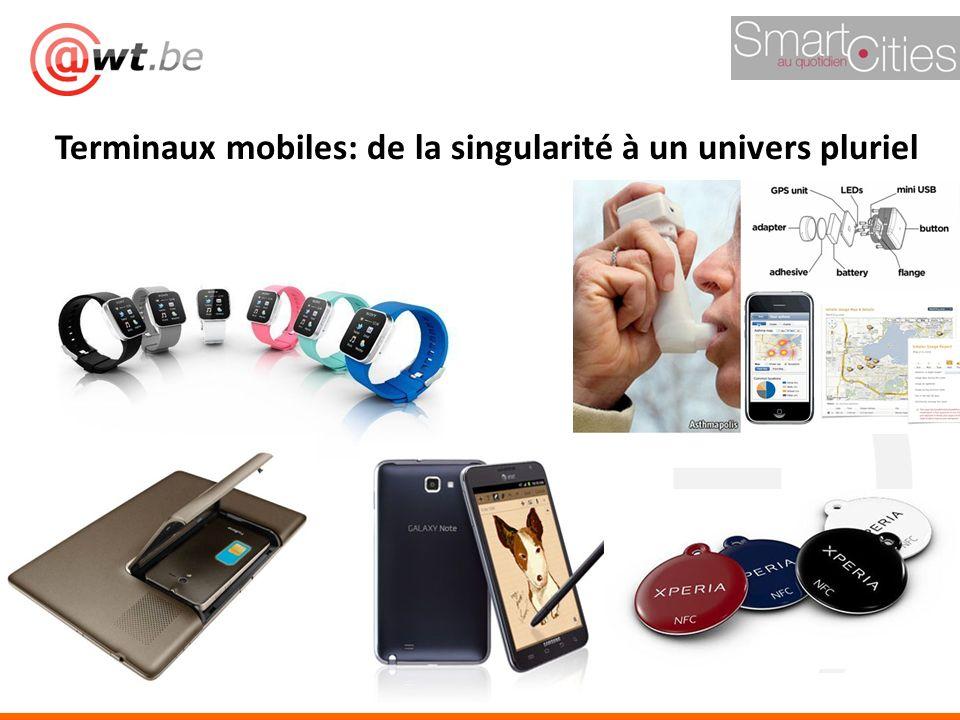 ;-) Terminaux mobiles: de la singularité à un univers pluriel