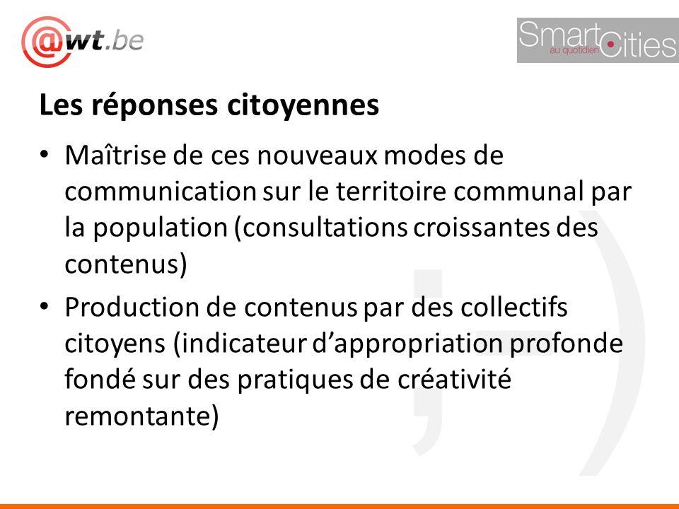 ;-) Maîtrise de ces nouveaux modes de communication sur le territoire communal par la population (consultations croissantes des contenus) Production d