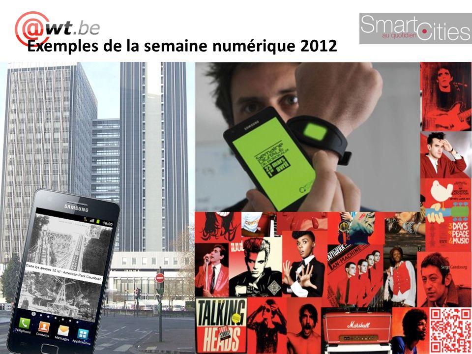 ;-) Exemples de la semaine numérique 2012