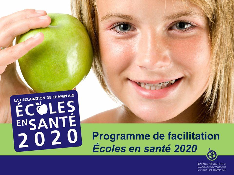 Programme de facilitation Écoles en santé 2020
