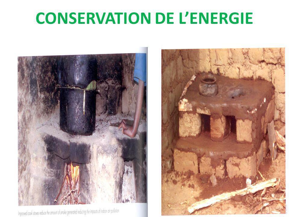 CONSERVATION DE LENERGIE