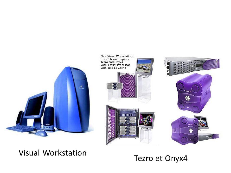 Tezro et Onyx4 Visual Workstation