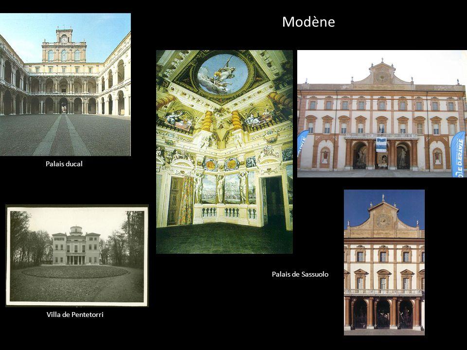 Modène Palais ducal Palais de Sassuolo Villa de Pentetorri