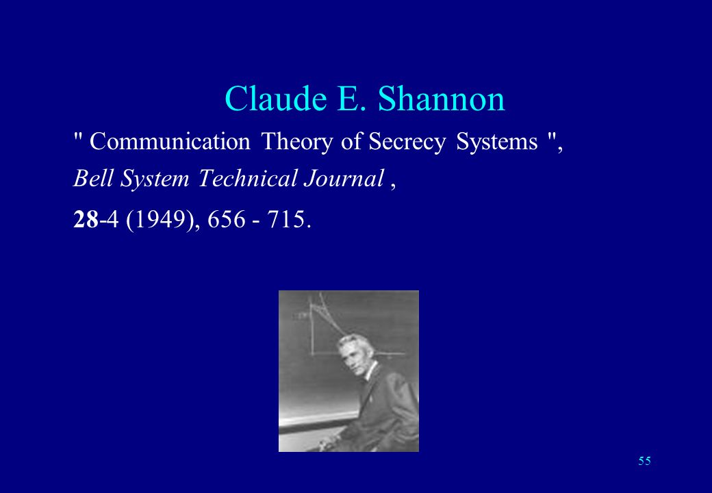 Claude E.