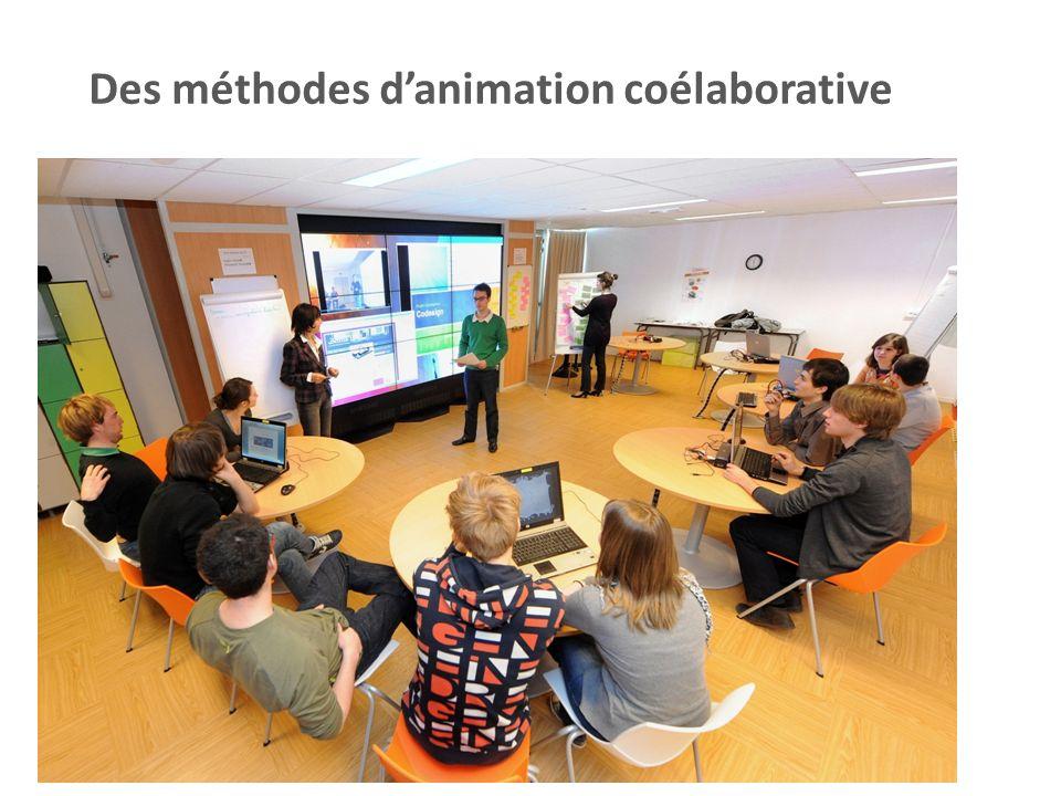 Des méthodes danimation coélaborative