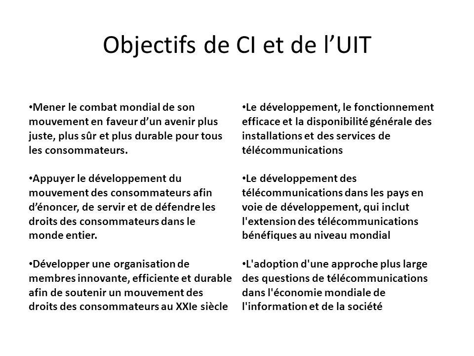 Contacts et liens utiles à lUIT (fin) Les projets de partenariat http://www.itu.int/ITU-D/projects/proj_call-partners.asp http://www.itu.int/ITU-D/projects/proj_call-partners_GP.asp http://www.itu.int/en/ITU-D/Partners/Pages/default.aspx http://www.itu.int/en/ITU-D/Partners/Pages/Connect/ConnectTheWorld.aspx Les évènements http://www.itu.int/en/events/Pages/Calendar-Events.aspx?sector=ITU-D
