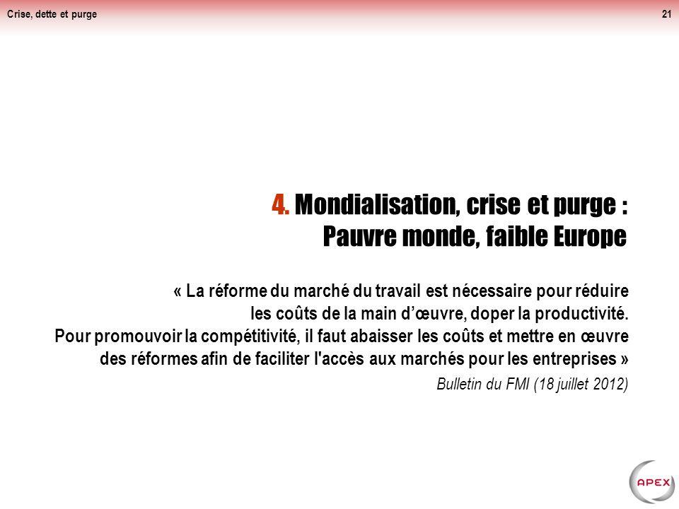 « La réforme du marché du travail est nécessaire pour réduire les coûts de la main dœuvre, doper la productivité.