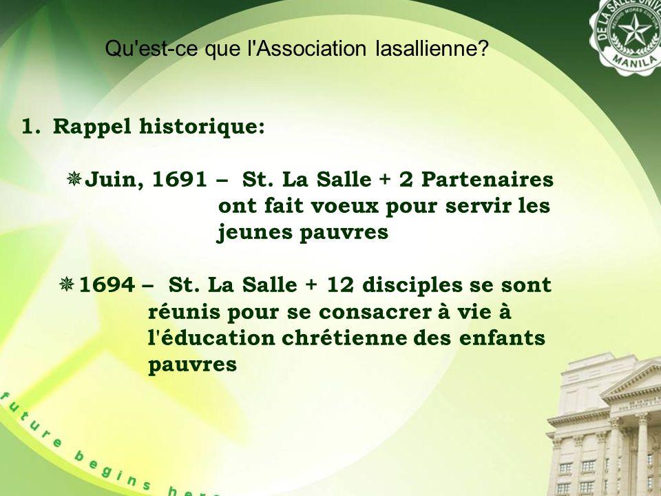 1.Rappel historique: Juin, 1691 – St.