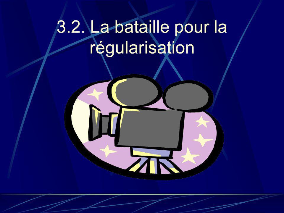 3.2. La bataille pour la régularisation