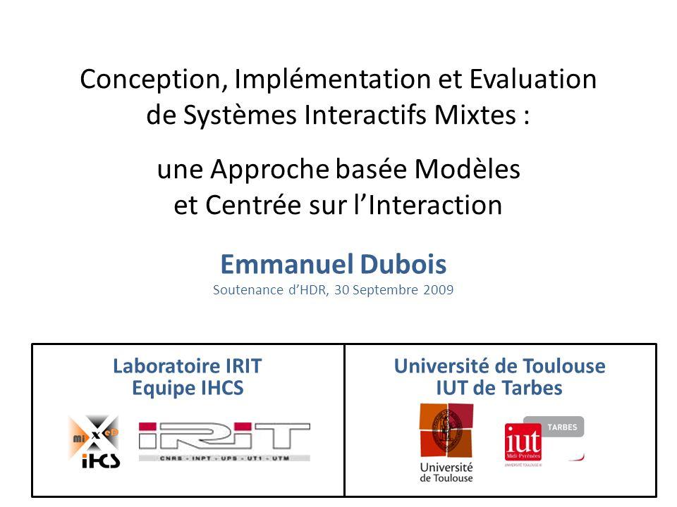 Liaison entre analyse et conception de linteraction KMAD / ASUR [Tamodia07, Book Mixer09] (S.
