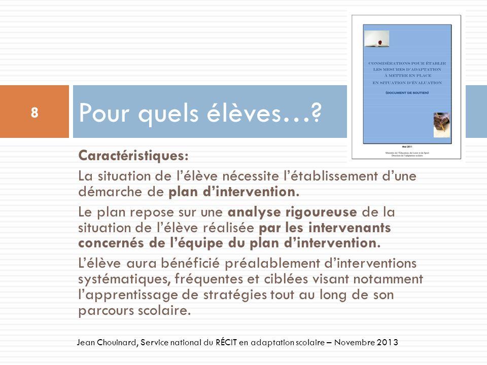 49 Jean Chouinard, Service national du RÉCIT en adaptation scolaire – Novembre 2013 Aides à la révision-correction Fonction daide: Révision-objectivation Cette fonction permet à lélève dobjectiver et de modifier son texte.